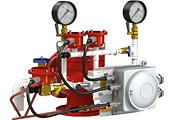 Узел управления дренчерный с комбинированным приводом взрывозащищенный